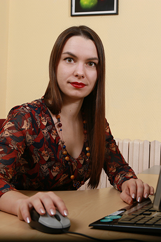 Анастасия - дизайнер компании Цифровая печать