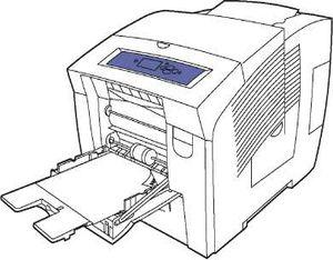 особенности печати на бумаге