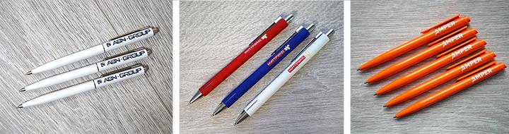 Ручки с логотипом, фирменные ручки