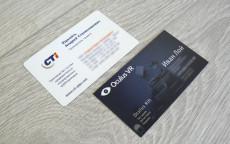 заказать полноцветные визитки в типографии Цифровая печать