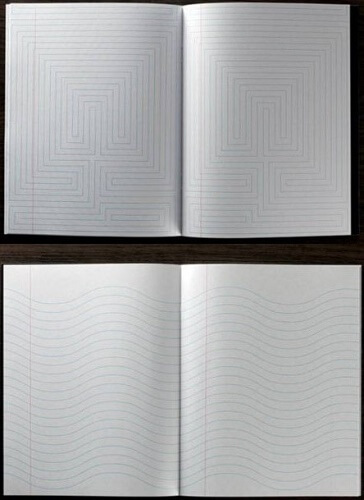 разлинеенные блокноты