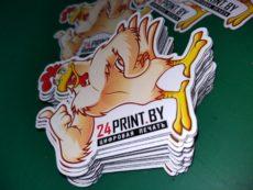 фигурные магниты от компании 24print