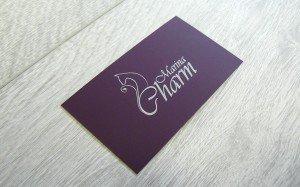 Визитки Marina Charm